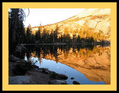 May Lake in the Sierra Nevada