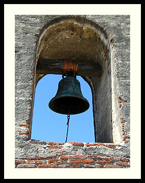 Mission bell of San Juan Capistrano