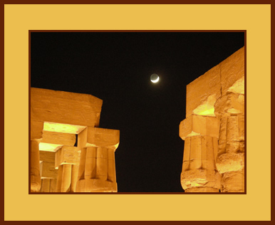 Columns in Luxor