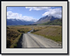 New Zealand Mountain Road