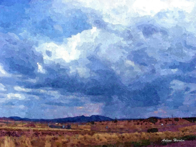 16 - Arizona painting sky
