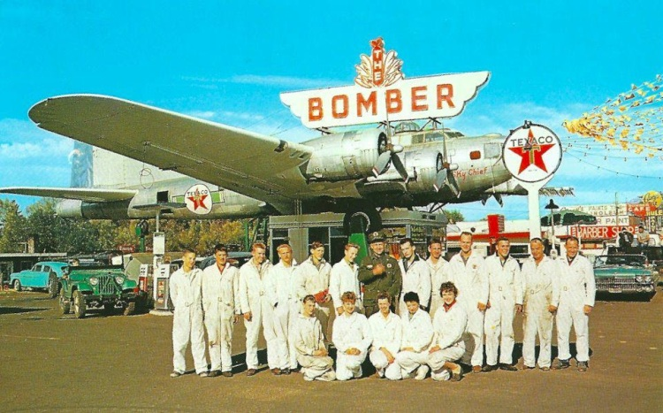 Bomber Texaco Station